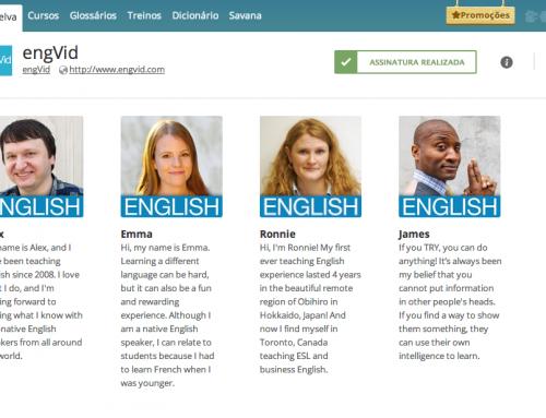 Engvid e TOEFL: os novos lançamentos da Selva do Inglês