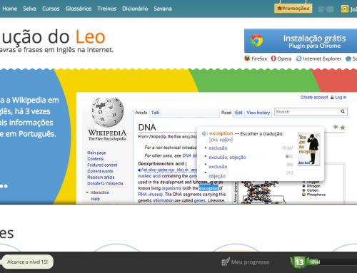 Extensões do Leo: a internet é o limite!