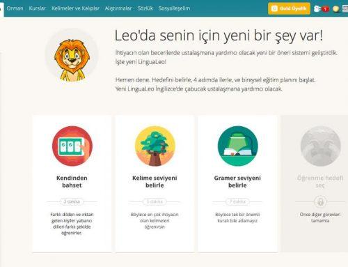 LinguaLeo kişiselleştirme özellikleriyle yenilendi!