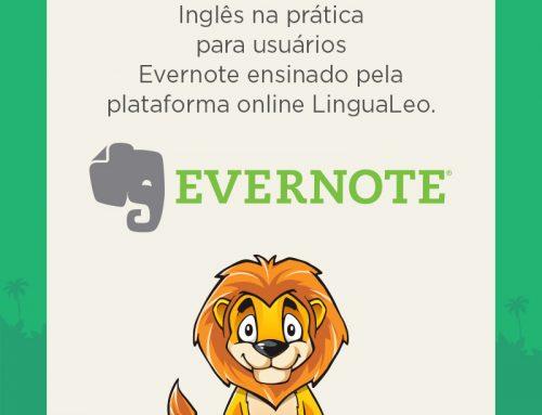 Dicas de Inglês da LinguaLeo agora na sua conta da Evernote