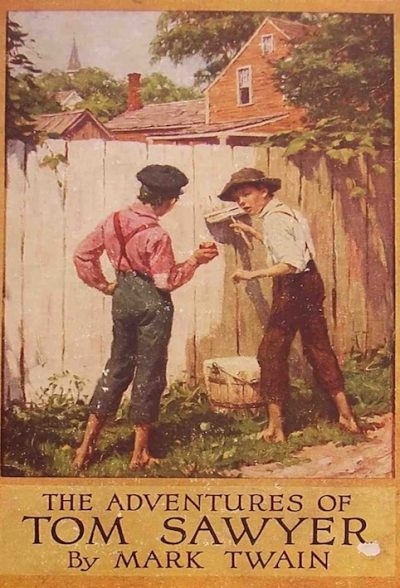 an analysis of the topic of tom sawyer by mark twain