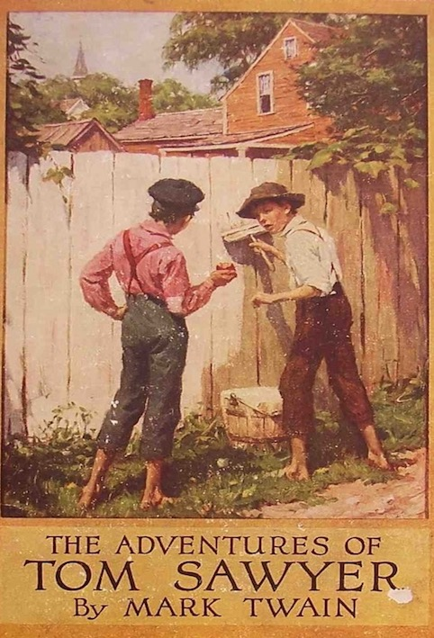 an overview of the life of tom sawyer in the novel the adventures of tom sawyer by mark twain The 10 best mark twain books by harry l katz |  the adventures of tom sawyer (1876) and 4  by the end of his incredibly active and productive life, twain was beaten down by age and loss.